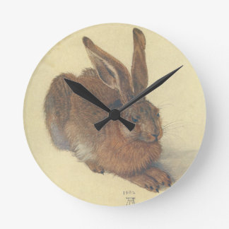 Hare by Albrecht Durer Wallclocks