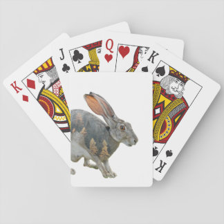 Hare Double Exposure Playing Cards