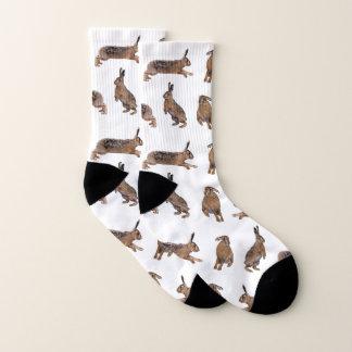 Hare Frenzy Socks (Choose colour) 1