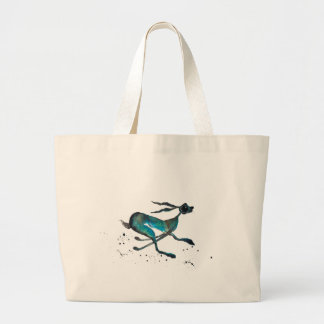 HARE IN A HURRY! LARGE TOTE BAG