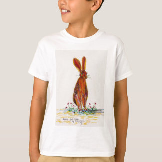 Hare in Poppies T-Shirt