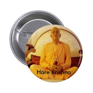 Hare Krishna 2 Inch Round Button