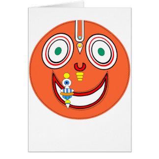 Hare Krishna Card