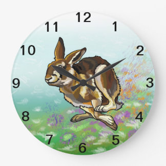 hare large clock