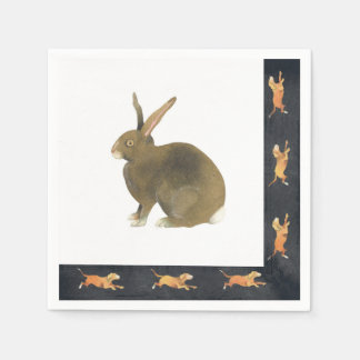 Hare of the Dog Paper Napkins