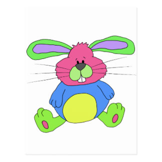 Hare rabbit postcard