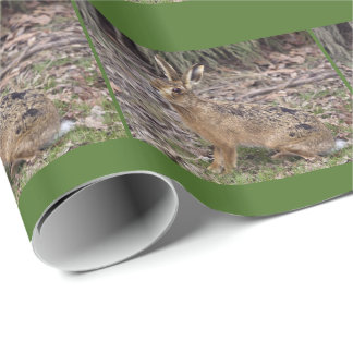 Hare Today, Gone Tomorrow Wrapping Paper