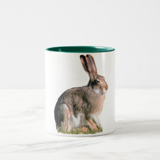 Hare Two-Tone Coffee Mug