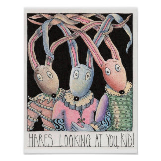 Hares Looking at You, Kid! Poster