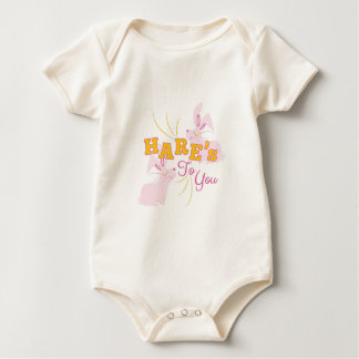 Hares To You Baby Bodysuit