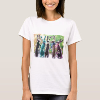 Hares with scarves T-Shirt