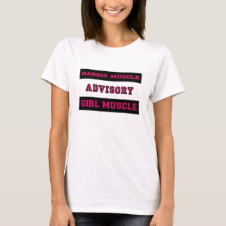 Hargis Muscle Girl Muscle T-Shirt