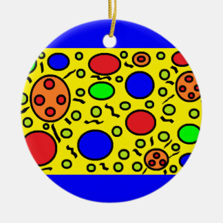 Haring Inspired Ornament