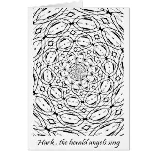Hark, The Herald Angels Sing Note Card