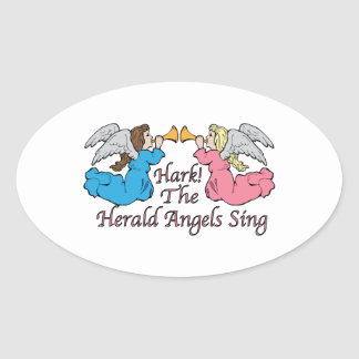 Hark The Herald Angels Sing Sticker