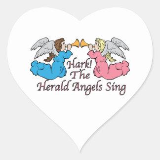 Hark The Herald Angels Sing Stickers