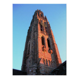 Harkness Tower Yale Poster