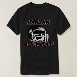 Harlan County BLACKBEARS  Kentucky HIGH SCHOOL T-Shirt