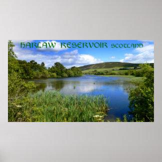 Harlaw Reservoir, Scotland Poster