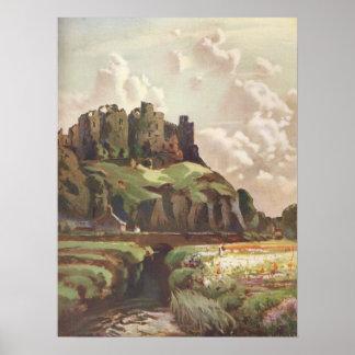 Harlech Castle I, Wales Poster