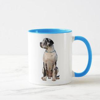 Harlekin Great Dane Mug