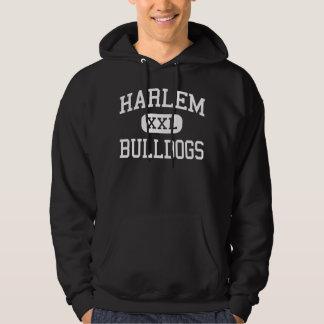 Harlem - Bulldogs - High School - Harlem Georgia Hoodie