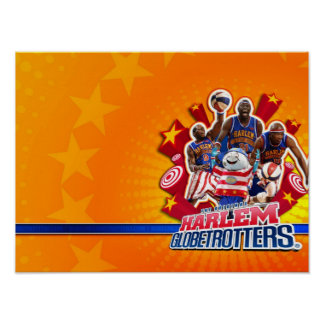 Harlem GlobeTrotter's Group Picture Poster