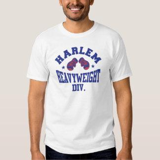Harlem Heavyweight Blue Tee Shirts