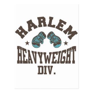 Harlem Heavyweight Mocha Postcard