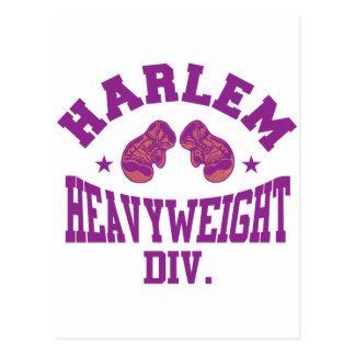Harlem Heavyweight Purple Postcard