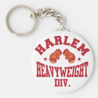 Harlem Heavyweight Red Basic Round Button Keychain