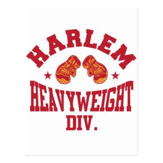 Harlem Heavyweight Red Postcard