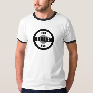 Harlem New York City Black & Grey Logo Shirt