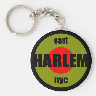 Harlem NYC Key Chain