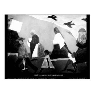 Harlem Renaissance Art - The Migration Series Postcard