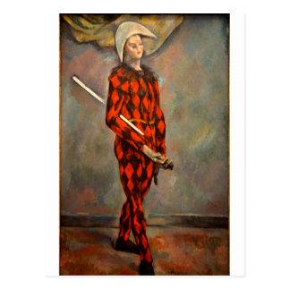harlequin-1 postcard