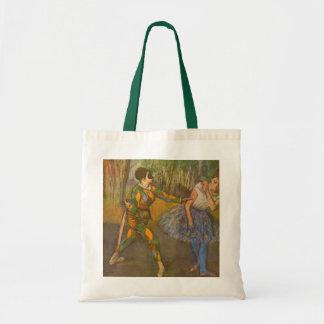 Harlequin and Columbine by Edgar Degas Vintage Art