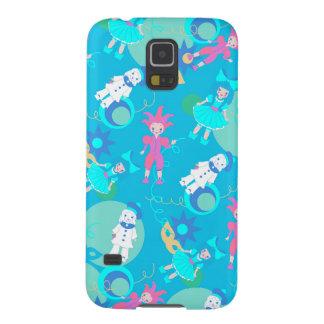 Harlequin, Arlequin, Columbina, Pierrot dolls patt Galaxy S5 Cover