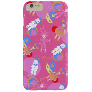 Harlequin, Arlequin, Columbina, Pierrot pattern Barely There iPhone 6 Plus Case