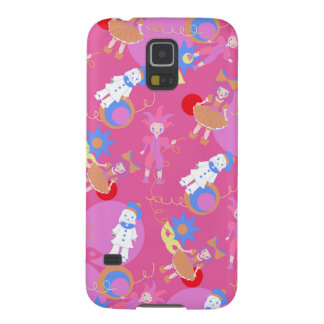 Harlequin, Arlequin, Columbina, Pierrot pattern Galaxy S5 Case