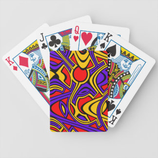 Harlequin Bicycle Playing Cards