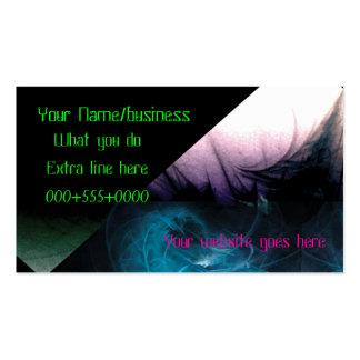 harlequin business card