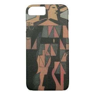 Harlequin by Juan Gris, Vintage Cubism Art iPhone 7 Case