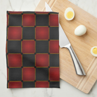 Harlequin Checkers Kitchen Towel