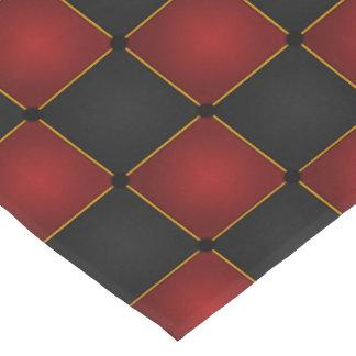 Harlequin Checkers Short Table Runner