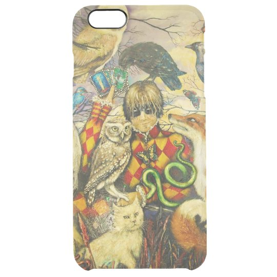 Harlequin Clear iPhone 6 Plus Case