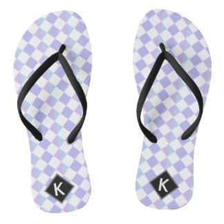 Harlequin, Diamond & Argyle Flip Flops