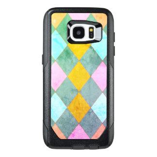Harlequin_Diamond-Quilt_Pastel_Multi- OtterBox Samsung Galaxy S7 Edge Case