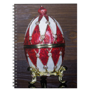 Harlequin egg notebooks
