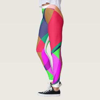 Harlequin-esque style leggings